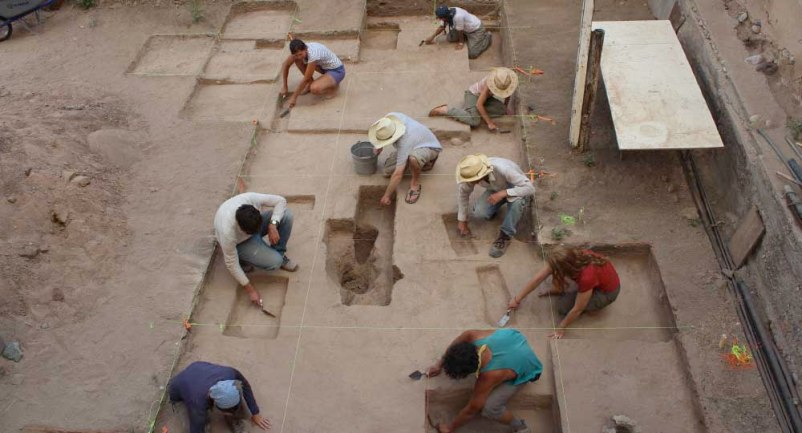 Torreon excavations